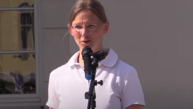 Photo of Huisarts Katrin Korb houdt pleidooi voor vrijheid